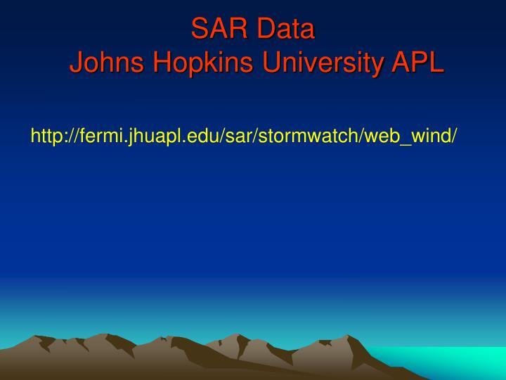 SAR Data