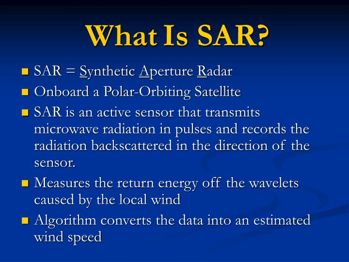 What is sar