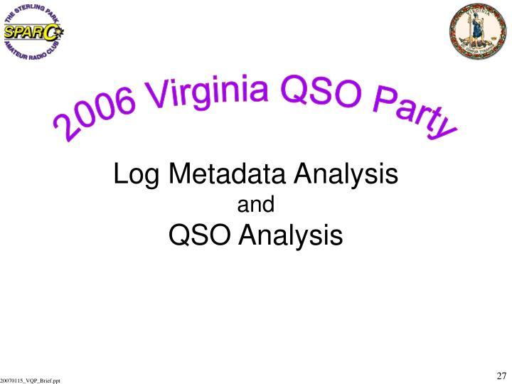 2006 Virginia QSO Party