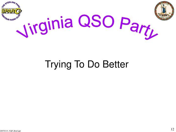 Virginia QSO Party