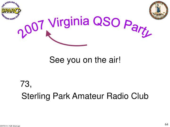 2007 Virginia QSO Party