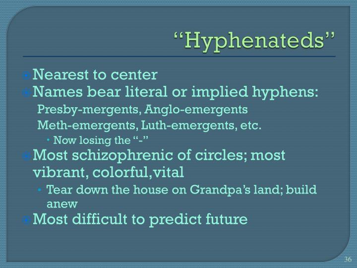 """Hyphenateds"""
