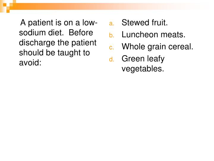A patient is on a low-sodium diet.  Before discharge the patient should be taught to avoid: