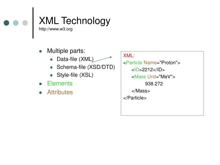 XML Technology