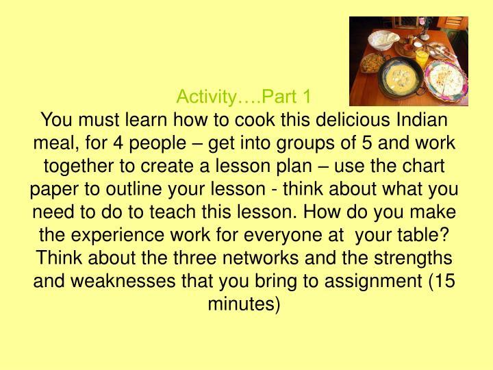 Activity….Part 1