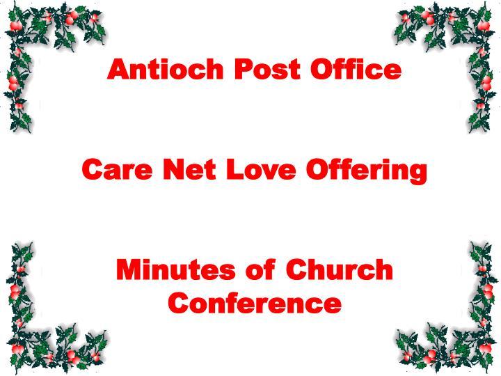 Antioch Post Office
