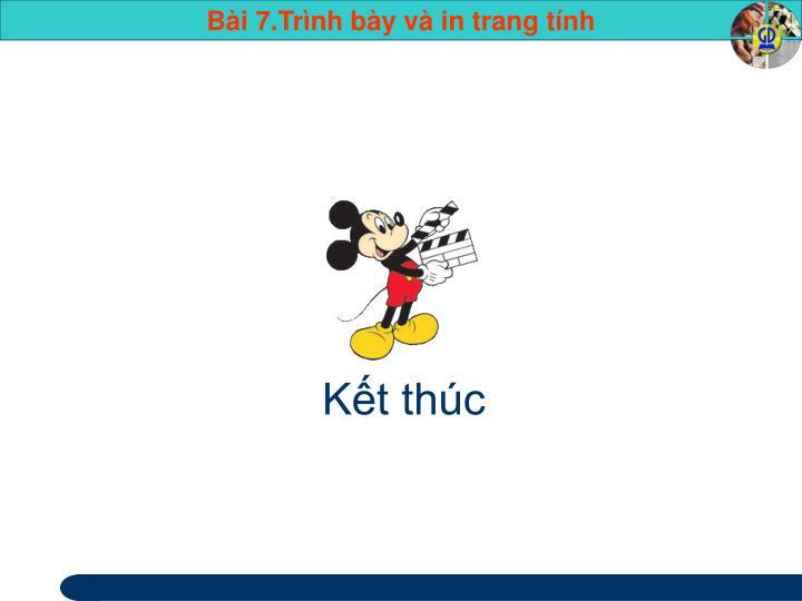 Kt thc