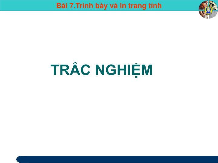 TRC NGHIM