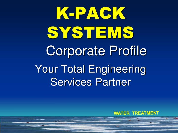 K pack systems your total engineering services partner