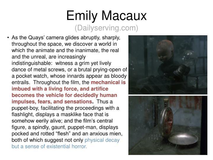 Emily Macaux