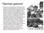 german patrons