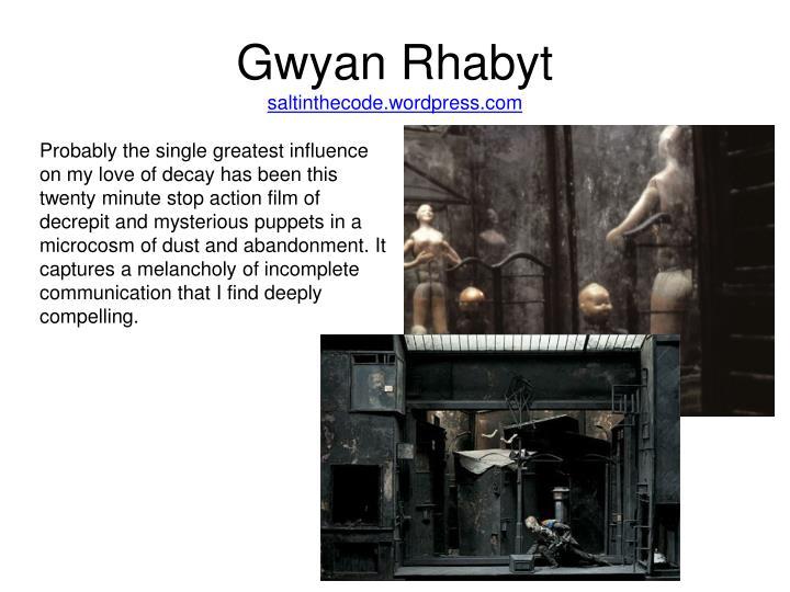 Gwyan Rhabyt