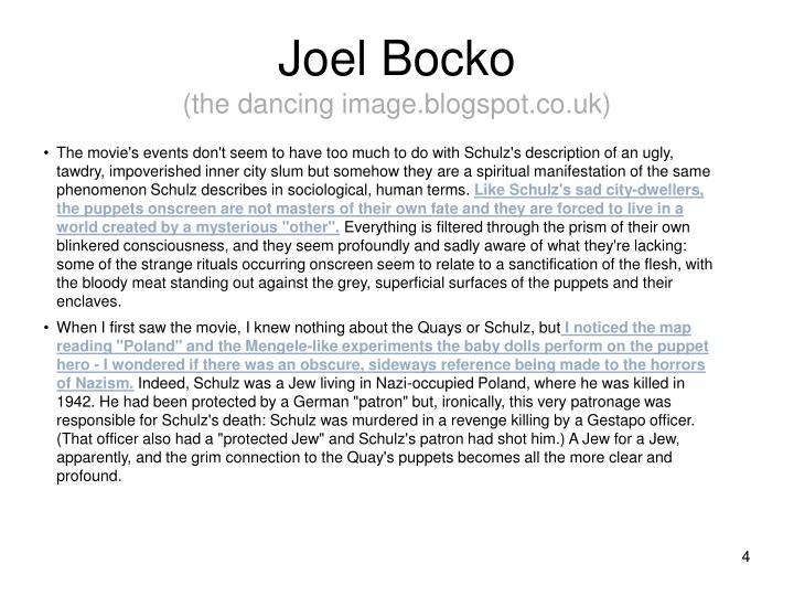 Joel Bocko