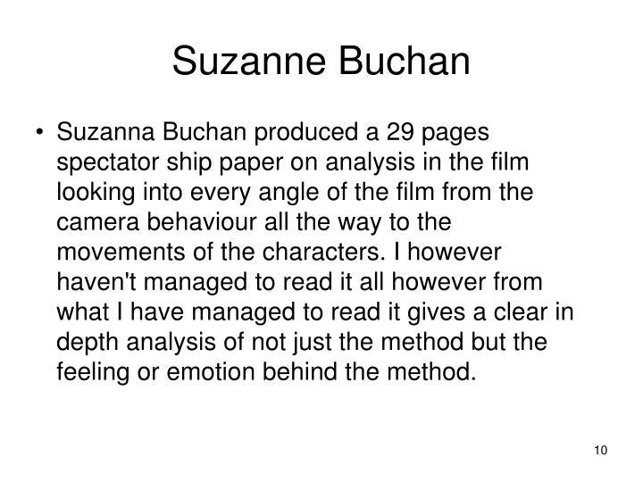 Suzanne Buchan