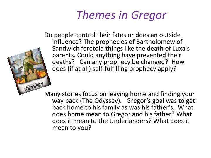 Themes in Gregor
