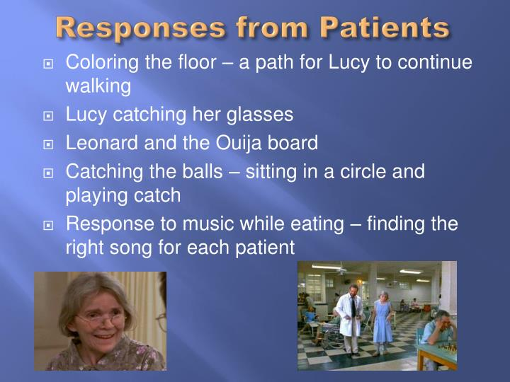 Responses from Patients