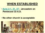 when established