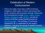 celebration of modern confucianism