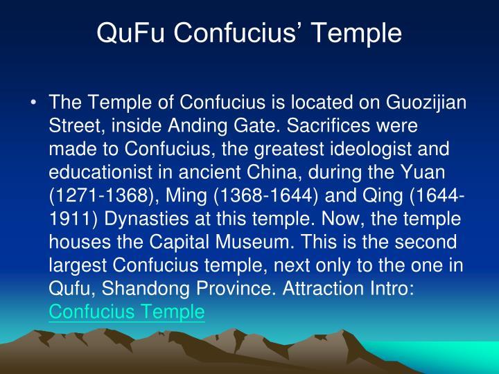 QuFu Confucius' Temple