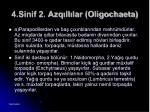 4 sinif 2 azq ll lar oligochaeta