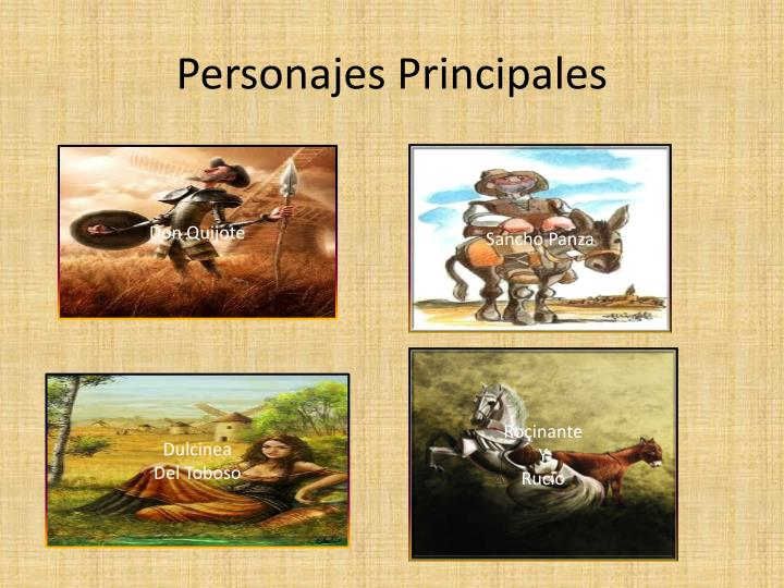 Personajes Principales