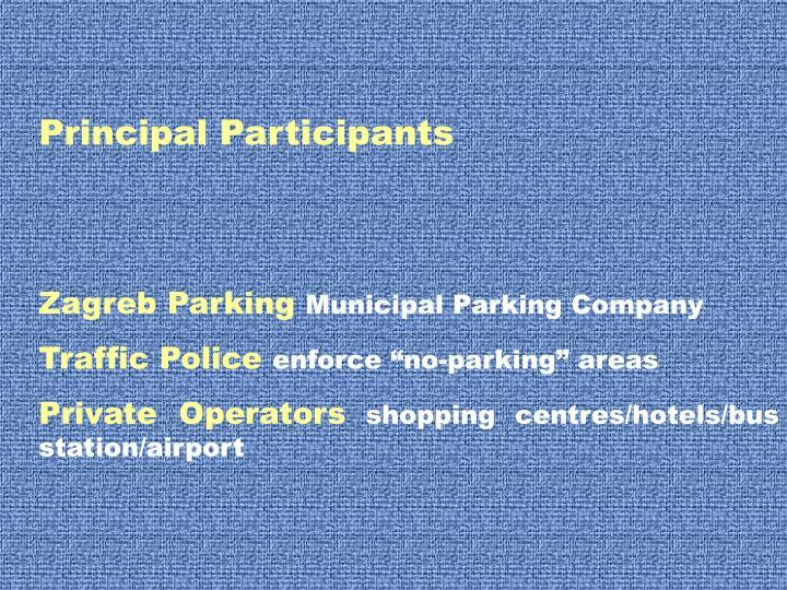 Principal Participants