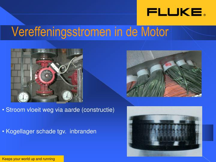 Vereffeningsstromen in de Motor