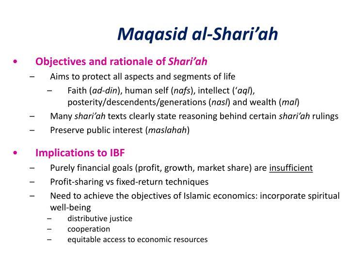 Maqasid al-Shari'ah