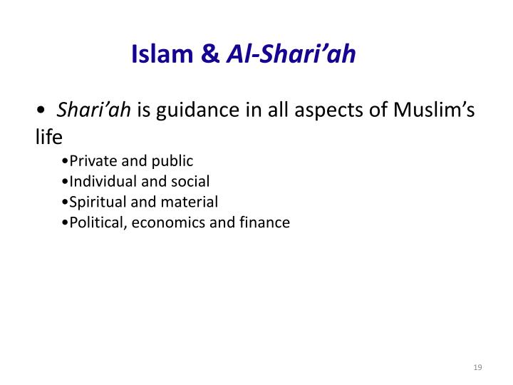 Islam &