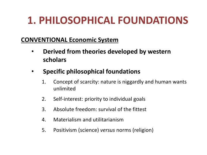 1. PHILOSOPHICAL FOUNDATIONS