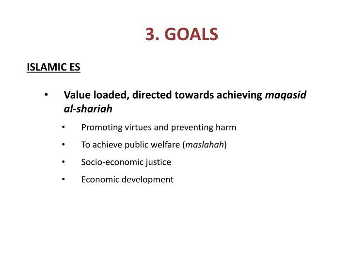 3. GOALS