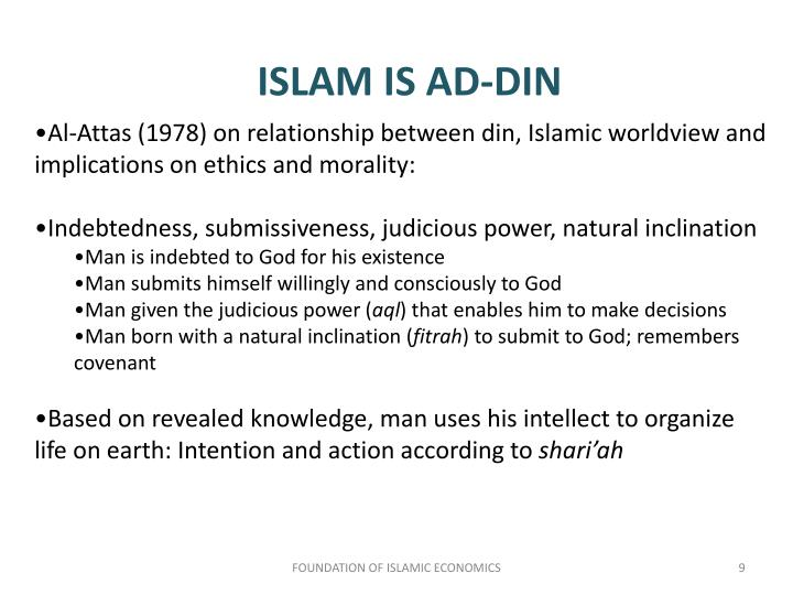 ISLAM IS AD-DIN