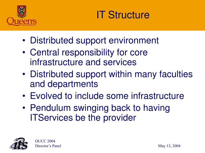 IT Structure