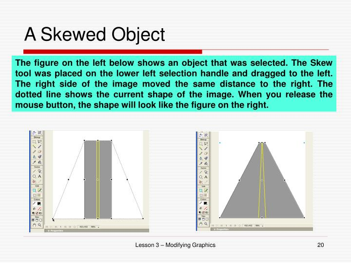 A Skewed Object
