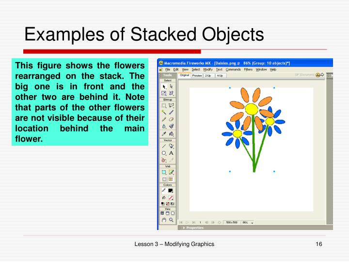 Examples of Stacked Objects