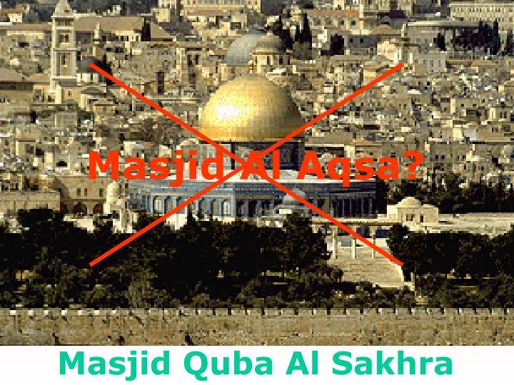 Masjid Al Aqsa?