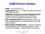 c2be partner entities