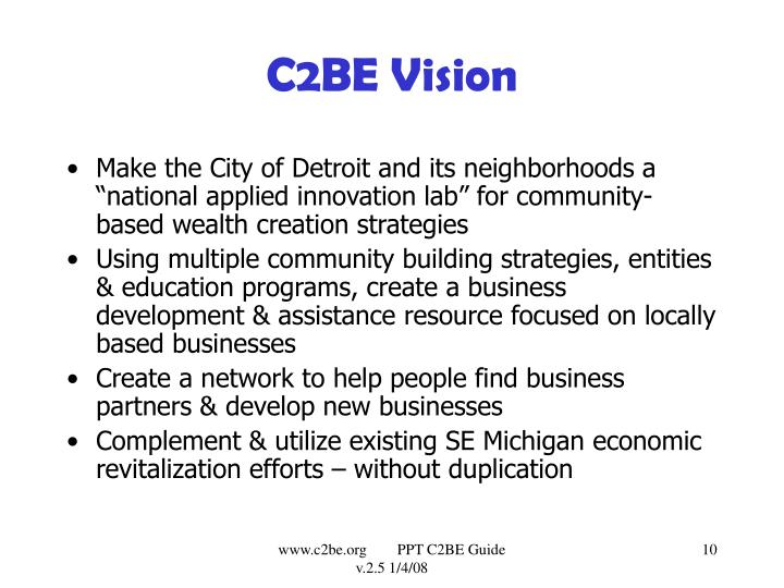 C2BE Vision