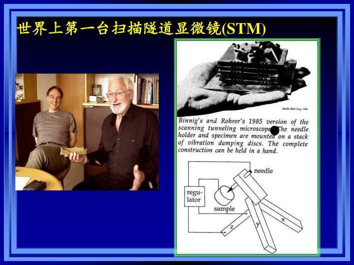 世界上第一台扫描隧道显微镜