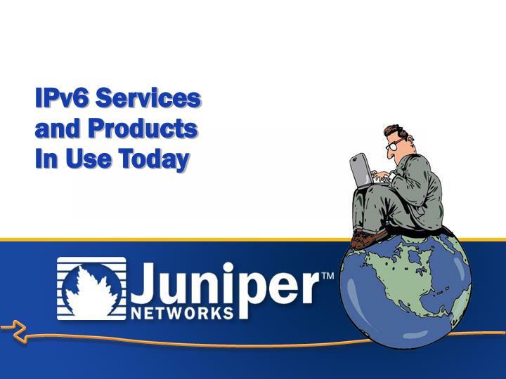 IPv6 Services