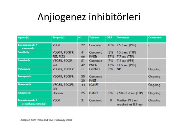 Anjiogenez inhibitrleri