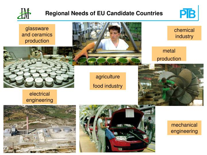 Regional Needs of EU Candidate Countries