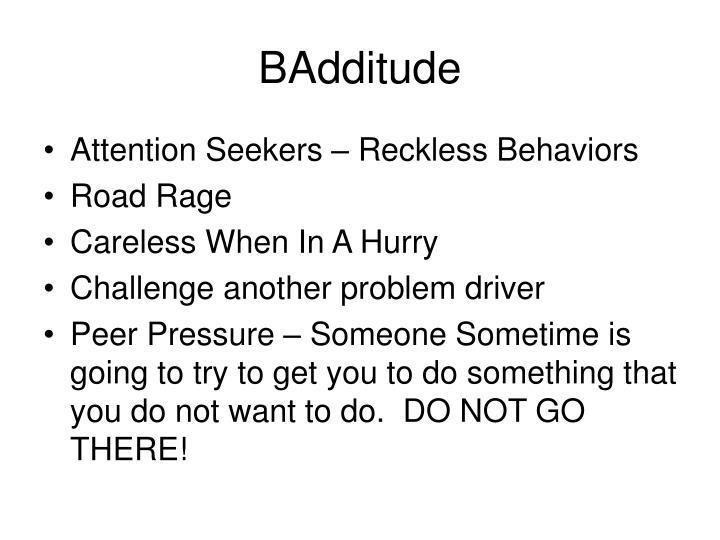BAdditude