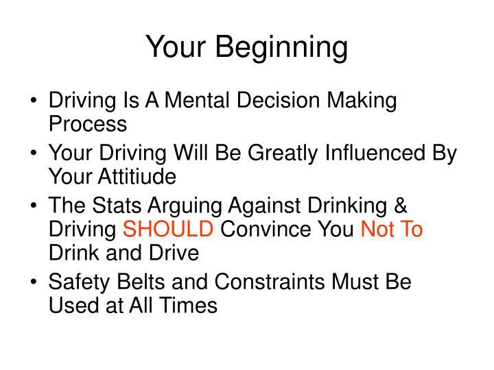 Your Beginning