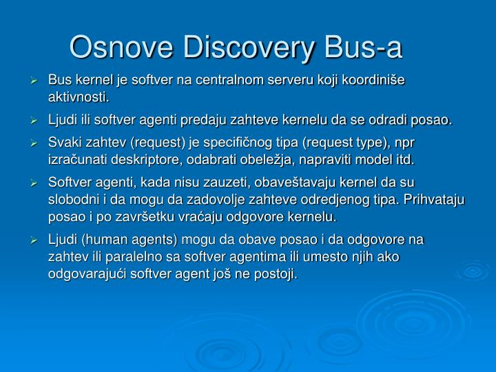 Osnove Discovery