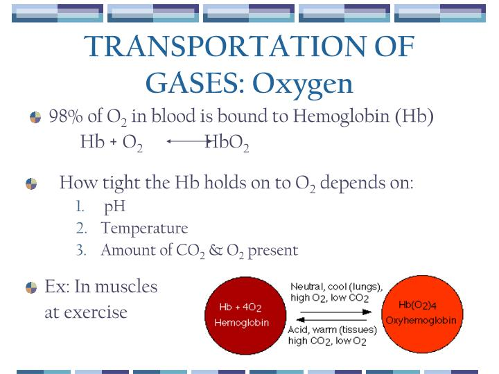 TRANSPORTATION OF GASES: Oxygen