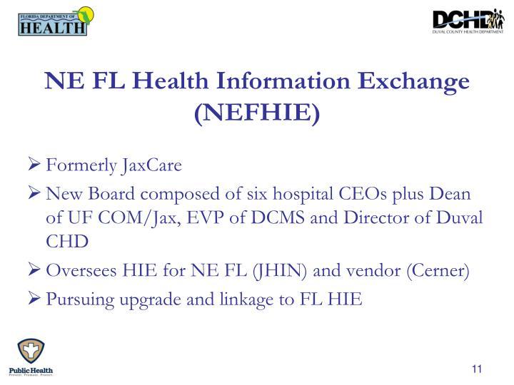 NE FL Health Information Exchange