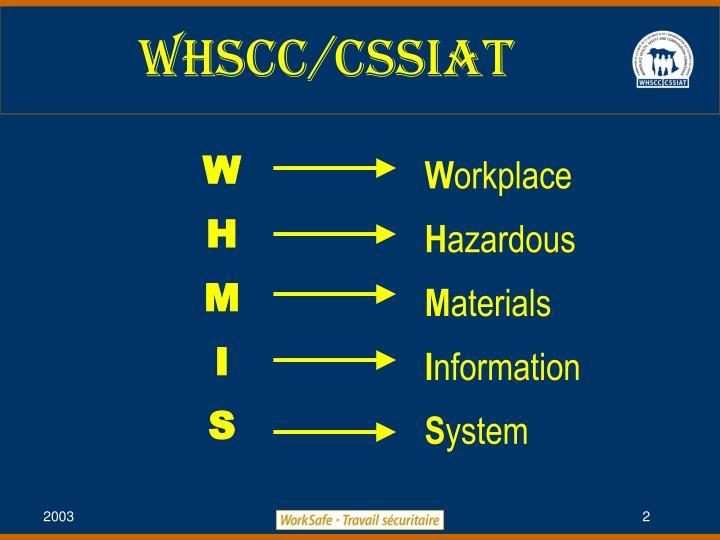 WHSCC/Cssiat