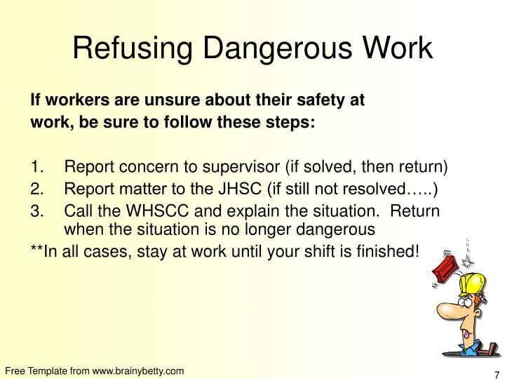 ppt safety in the workplace powerpoint presentation id