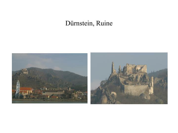 Dürnstein, Ruine